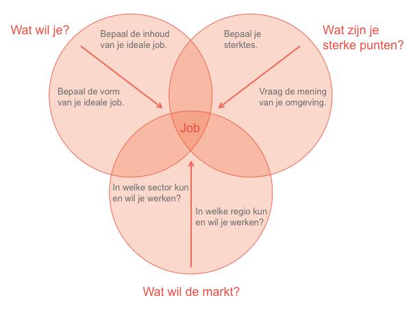 Definieer je ideale job op basis van je eigen wensen en sterktes.