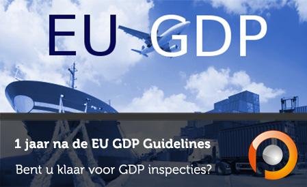 EU GDP Guidelines - Bent u klaar voor GDP inspecties - Pauwels Consulting