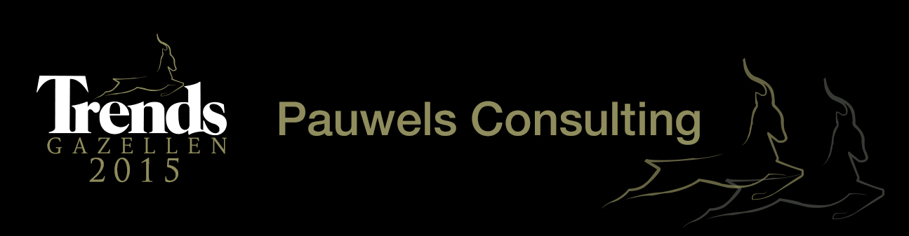 Fünf Mal in Folge: Pauwels Consulting Trends Gazelle 2015 der Provinz Flämisch-Brabant
