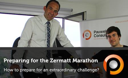 Preparing for the Zermatt Marathon - Pauwels Consulting