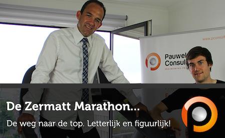 Voorbereiding voor de Zermatt Marathon - Pauwels Consulting