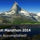 Zermatt Marathon - Mission Accomplished - Pauwels Consulting