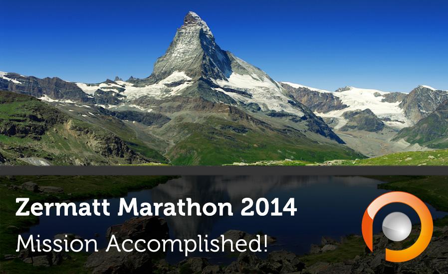 Zermatt Marathon - Mission Accomplished - Pauwels Consulting