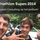 Triathlon Eupen 2014 - Pauwels Consulting - Derde Plaats - F