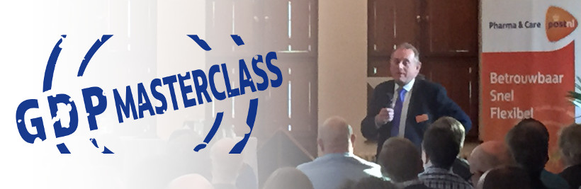 Nick Pople (Pauwels Consulting) presenting at PostNL GDP Masterclass on March 5