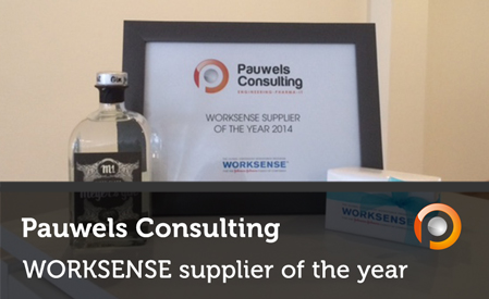 Pauwels Consulting is WORKSENSE Supplier of the Year 2014