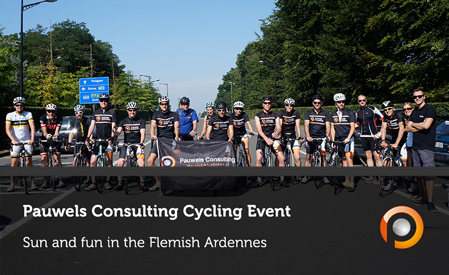 Pauwels Consulting Cycling Event in the Belgian Ardennes
