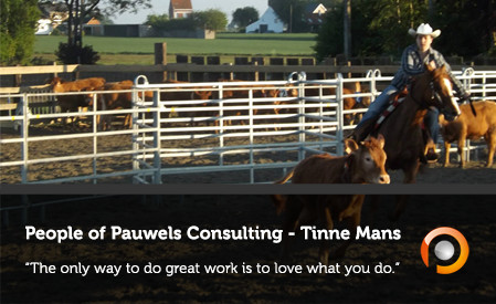 People of Pauwels Consulting - The Only Way To Do Great Work Is To Love What You D