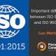 Important differences between ISO 9001:2015 and ISO 9001:2008