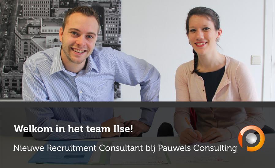 Welkom in het team, Ilse!