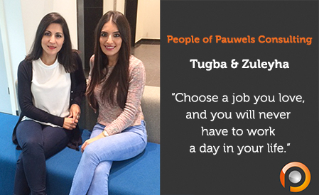 People of Pauwels Consulting - Tugba & Zuleyha