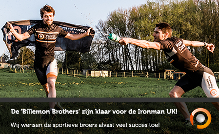 De Billemon Brothers zijn klaar voor de Ironman UK in Bolton