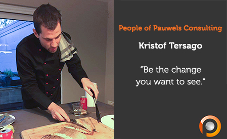 People of Pauwels Consulting - Kristof Tersago