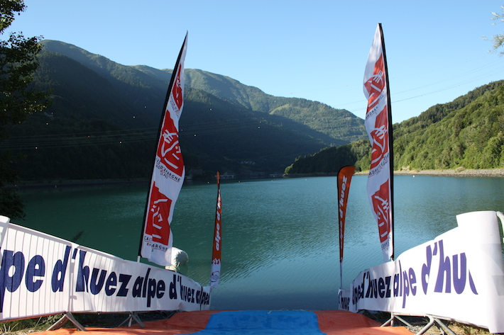 Triathlon Alpe dHuez - Start