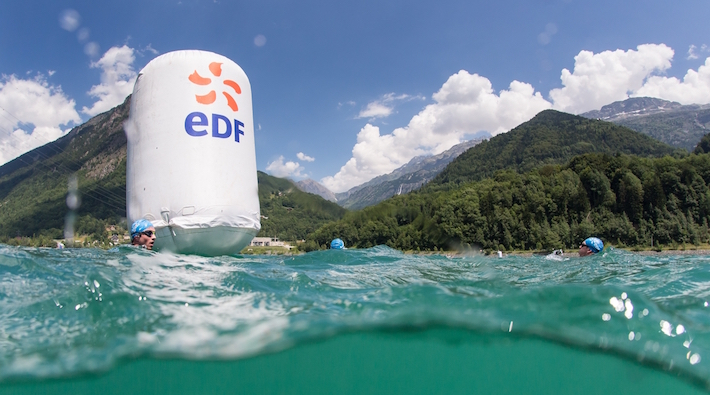 Triathlon Alpe dHuez - Swimming 3