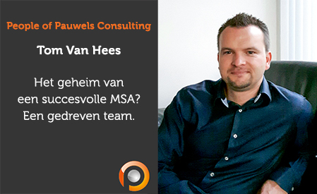 Tom Van Hees, Senior Consultant Engineering Services bij Pauwels Consulting
