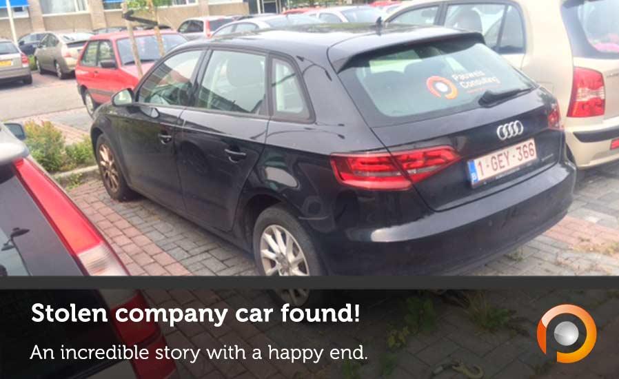 Stolen company car found