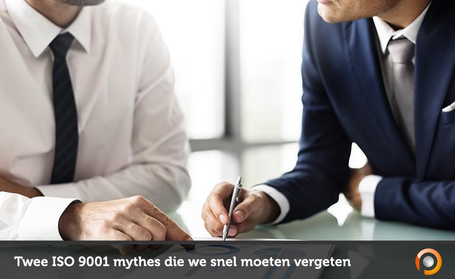 Twee ISO 9001 mythes die we snel moeten vergeten