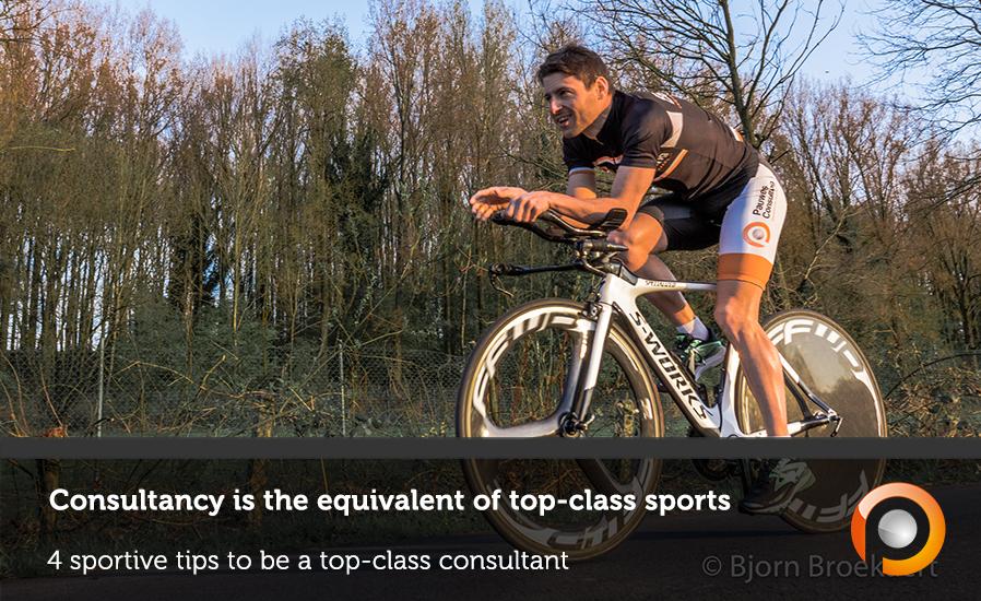 4 sportieve tips om een top consultant te worden - Pauwels Consulting