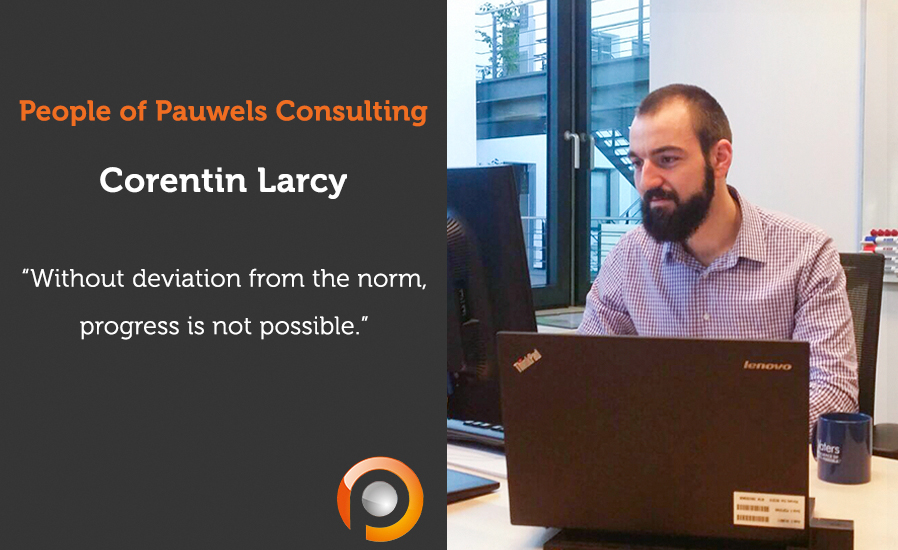 People of Pauwels Consulting - Corentin Larcy