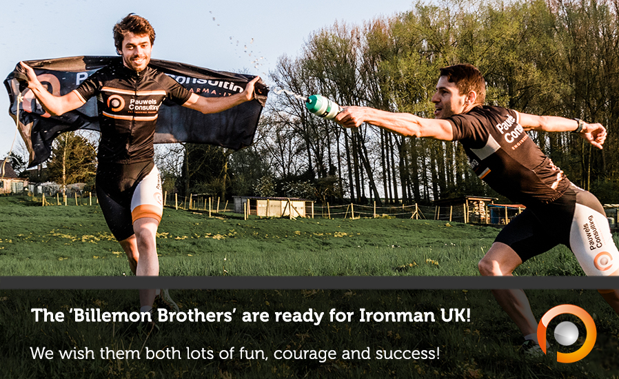 The Billemon Brothers are ready for Ironman UK in Bolton