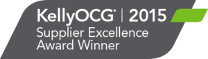 KellyOCG Supplier Excellence Award Winner