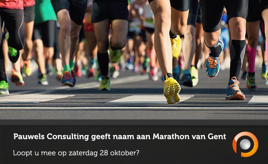 Pauwels Consulting title sponsor Marathon van Gent