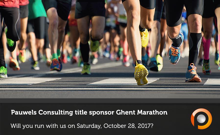 Pauwels Consulting title sponsor Ghent Marathon
