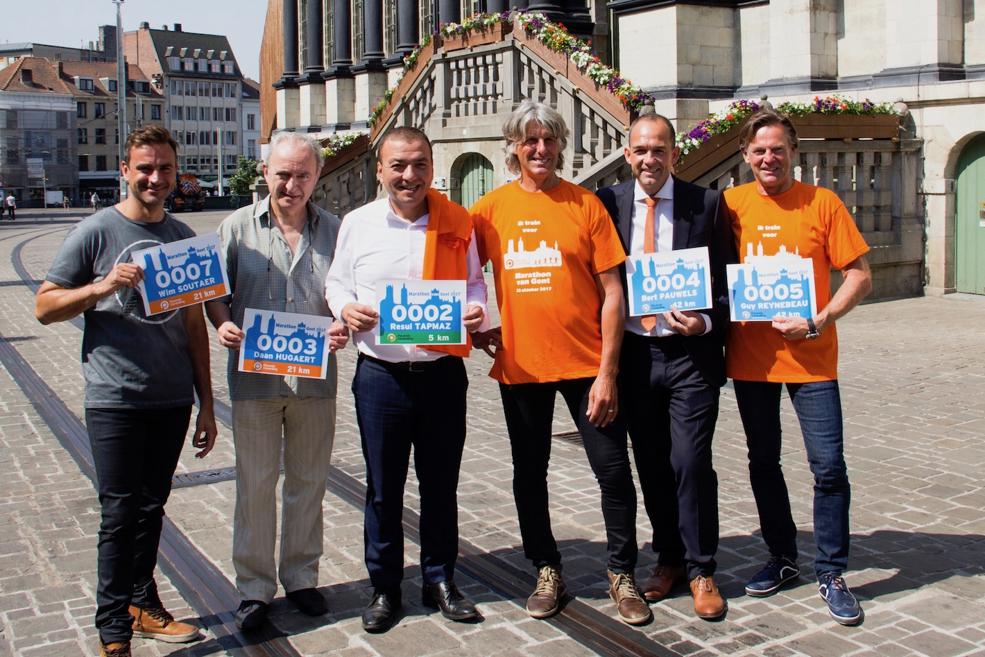 Pauwels Consulting Marathon van Gent - Stadhuis