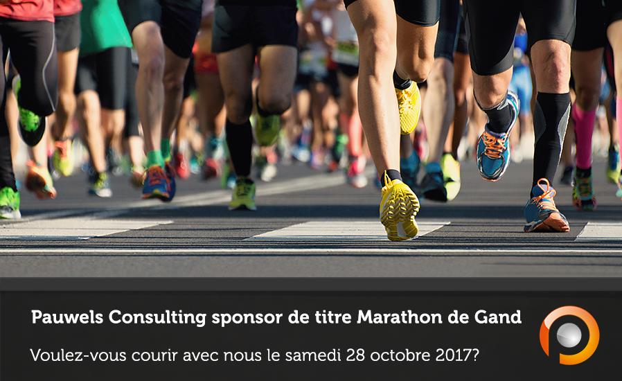 Pauwels Consulting sponsor de titre Marathon de Gand