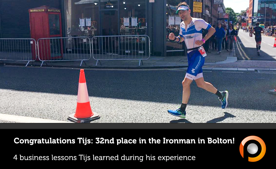 Four business lessons based on the Ironman in Bolton - Pauwels Consulting
