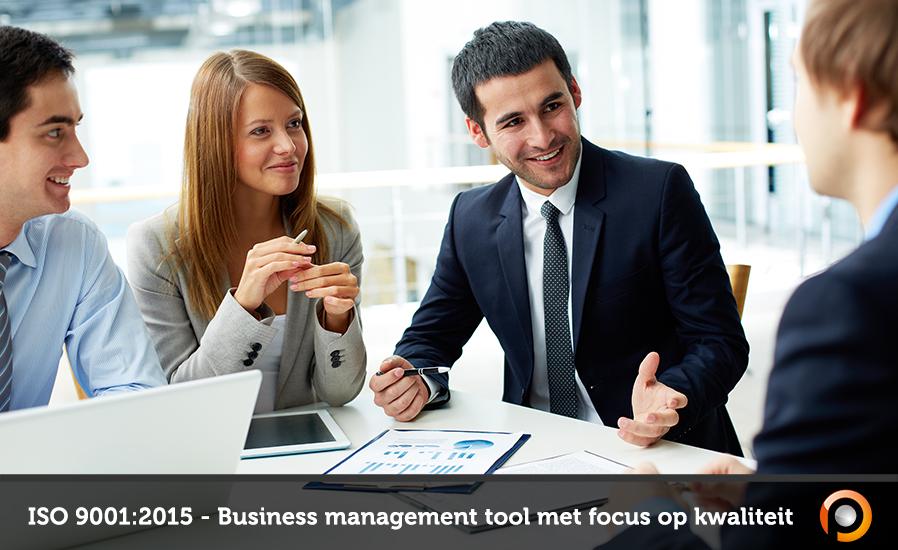 ISO 9001 is een business management tool met focus op kwaliteit - FI