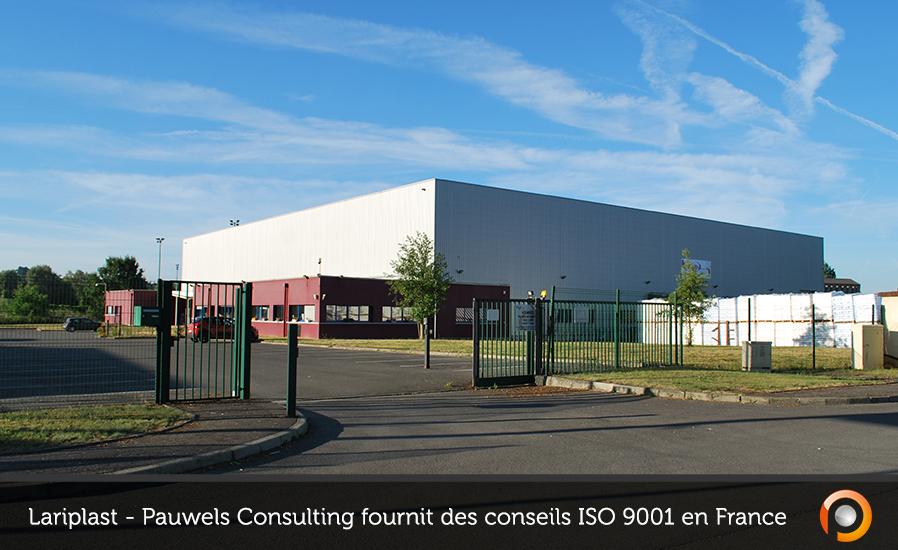 Lariplast - Pauwels Consulting fournit des conseils ISO 9001 en France FR - FI
