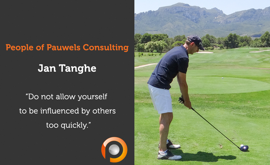 People of Pauwels Consulting - Jan Tanghe - ENG
