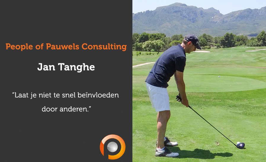 People of Pauwels Consulting - Jan Tanghe - NL