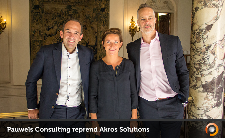 Pauwels Consulting reprend Akros Solutions - FI