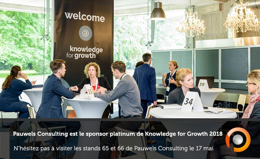 Knowledge for Growth 2018 - Pauwels Consulting V2 - FR