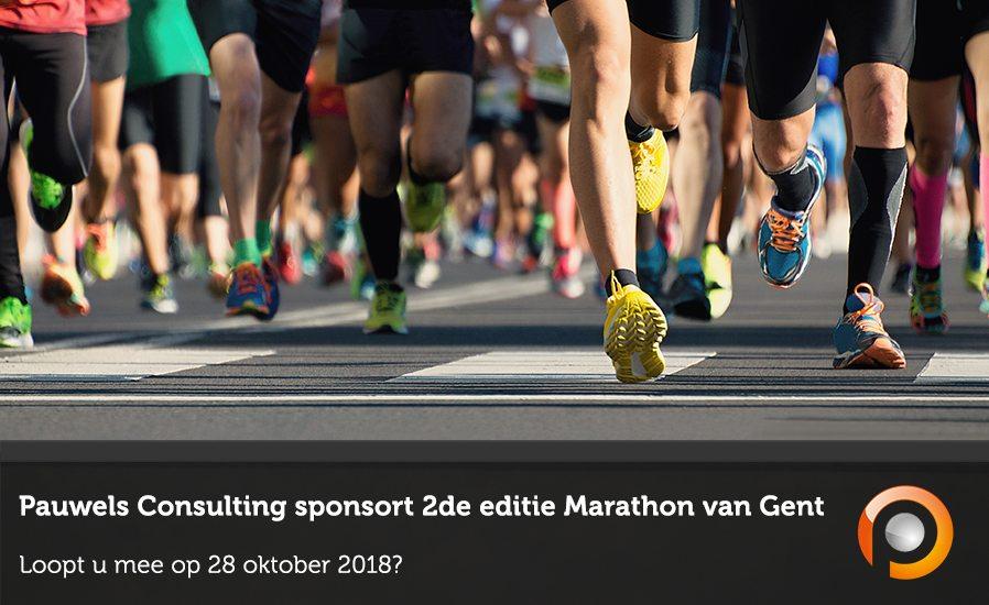 Pauwels Consulting sponsort Marathon van Gent