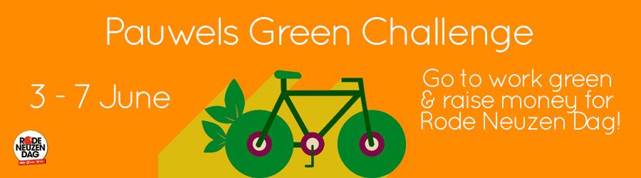 Pauwels Green Challenge voor Rode Neuzen Dag